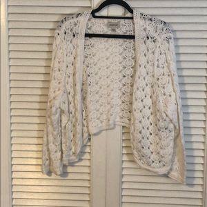 Avenue Crochet Cardigan